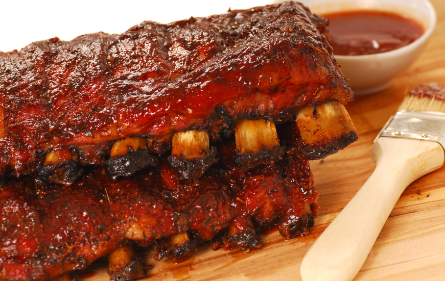 FALL OFF THE BONE BBQ RIBS – The Detachable Meat Mystery | Table ...