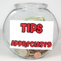 ON THE TRICKY SUBJECT OF TIPPING