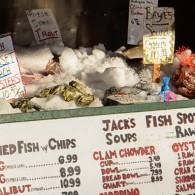WHAT'S IN A NAME / plenty, when it's Jack's Fish Spot et al in Seattle