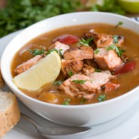 SOUP'S ON / healthy, hearty, easy fish soup