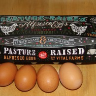 "UNSCRAMBLING THE MYSTERY OF THE WORDS ON THOSE EGG CARTONS / cage free … free range … organic … And when did eggs become ""the perfect food?"""