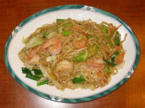 Kitchen quickies shrimp scallops chow mein table talk at larrys before i was released from the hospital after my quadruple coronary bypass surgery in 2008 i was told among other things to stay out of chinese recipes forumfinder Choice Image